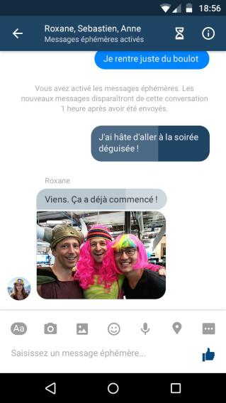 Facebook Messenger testet ein neues Nachrichtenmodell