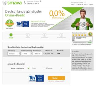 Website Smava