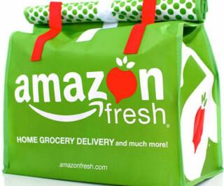 Tüte Amazon Fresh