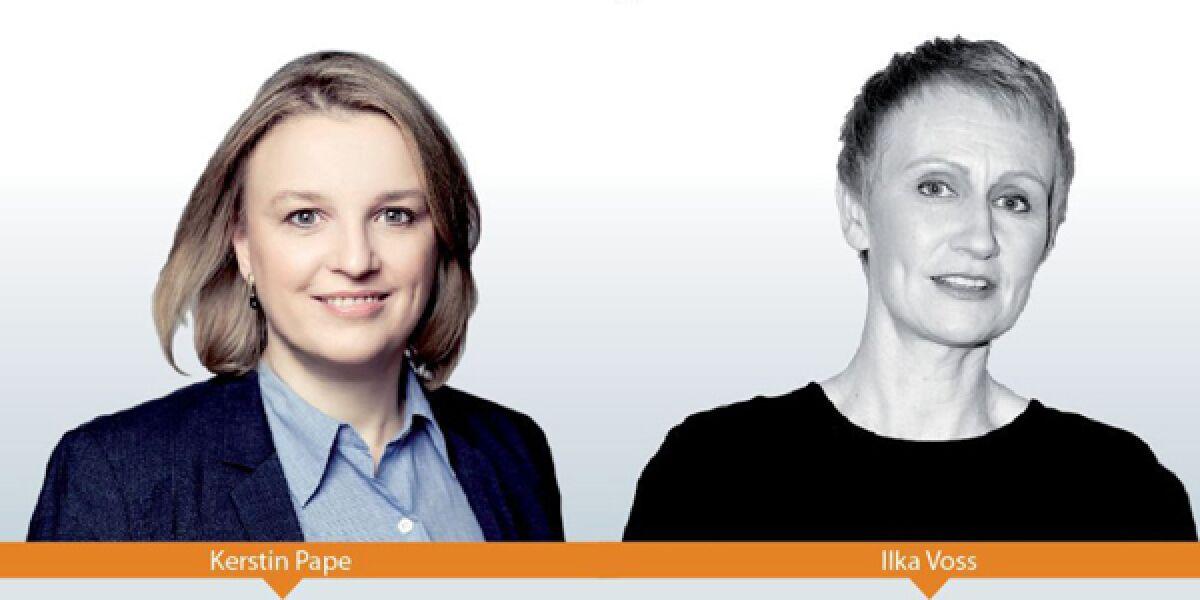 Kertin Pape und Ilka Vossd