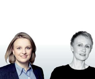 kerstin Pape und Ilka Voss
