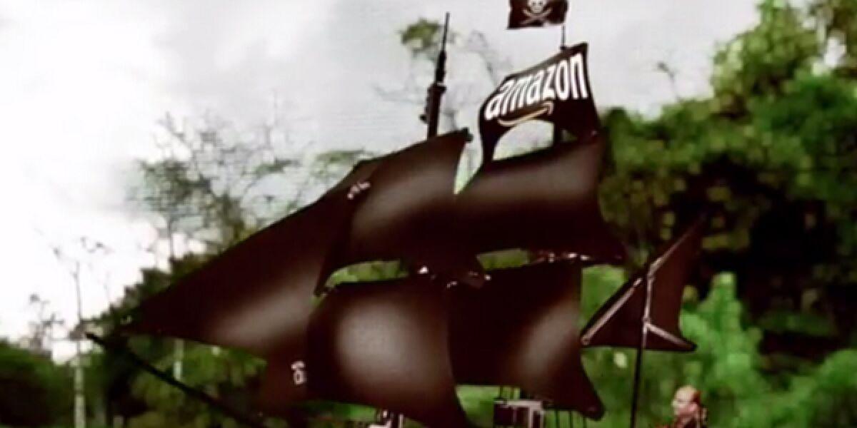 Piratenschiff auf dem Amazonas