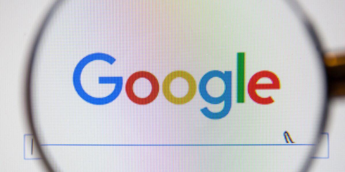 Website von Google