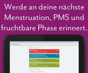 Clue - Menstruations-Kalender