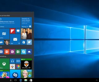 Windows Oberfläche