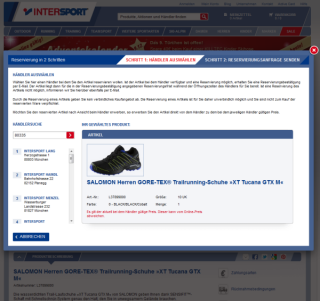 Intersport Click and Reserve