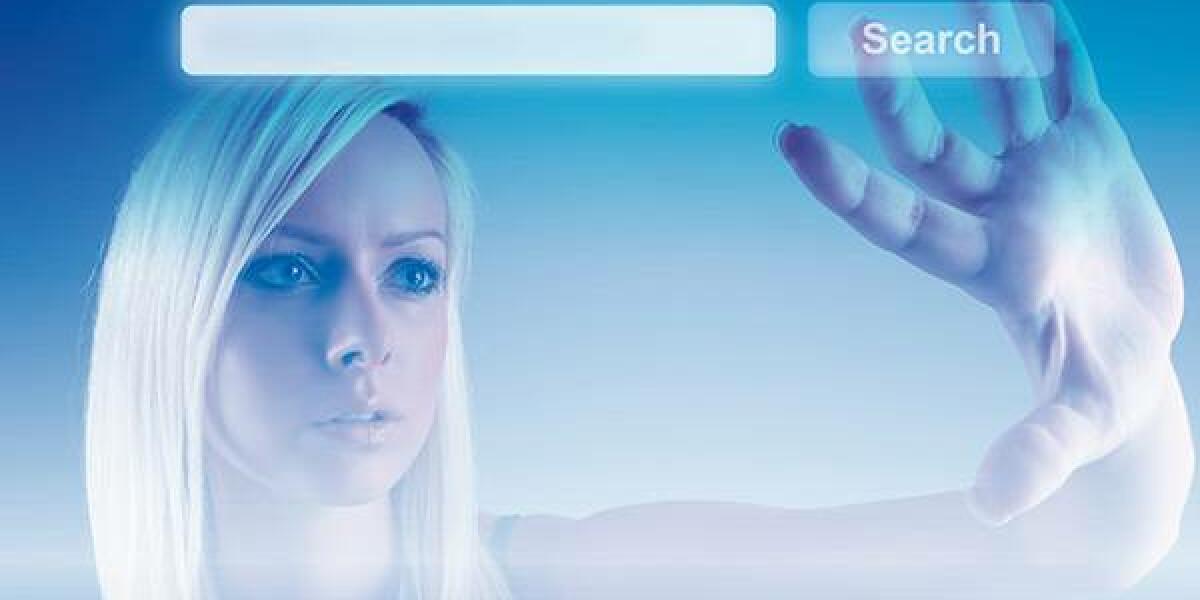 Frau Suche virtuell