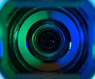 Das Objekt einer Kamera