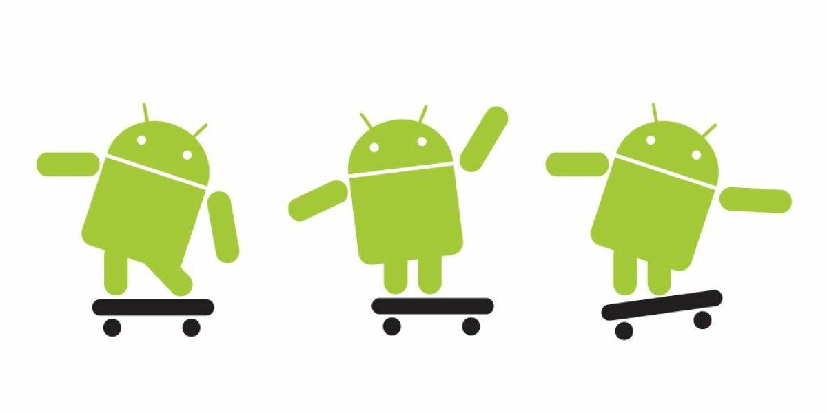 Android dominiert den mobilen Datenverkehr