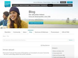 Der Blog der Consors Bank