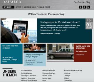 Der Daimler Blog