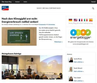Der SMA Blog