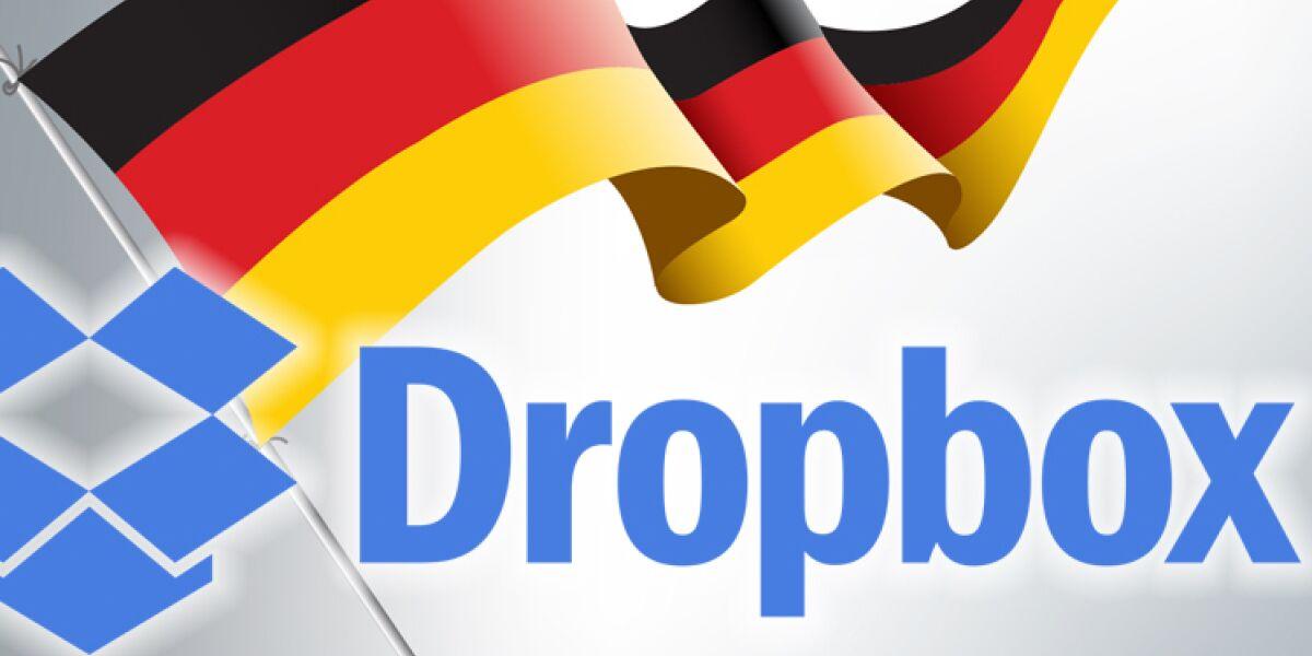 Dropbox speichert in der deutschen Cloud
