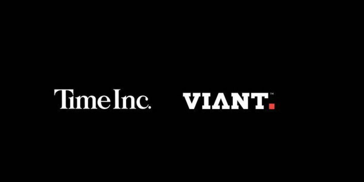 time inc und viant logos