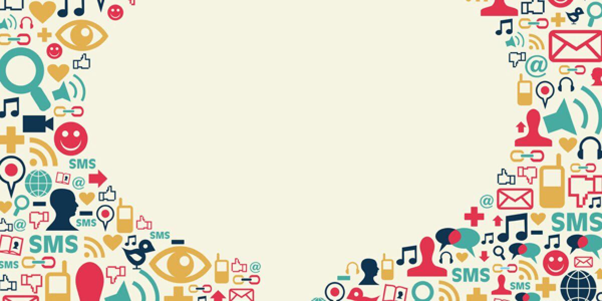 Social-Media-Sprechblase