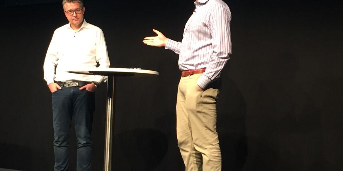 Matthias Schrader und Alexander Graf