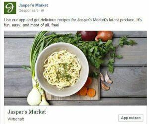 Facebook App Interaction Ad