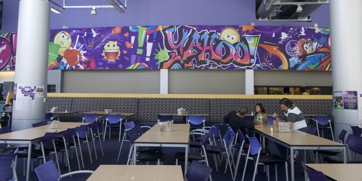 Yahoo Kantine in Sunnyvale