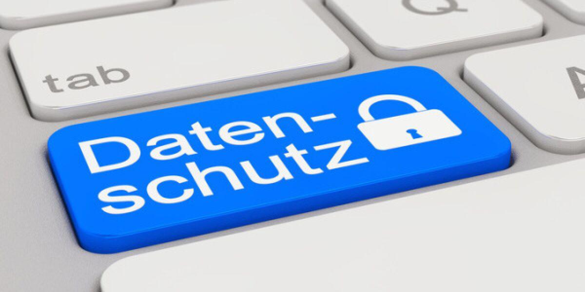 Datenschutz steht auf einer Computertaste