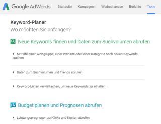 Keyword-Planer