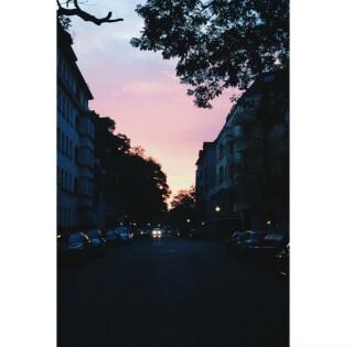 Sonnenaufgang-Berlin