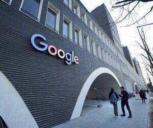 Logo am Google-Standort