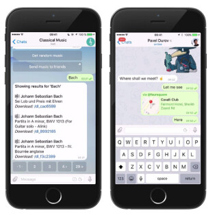 Telegram Chat Bots