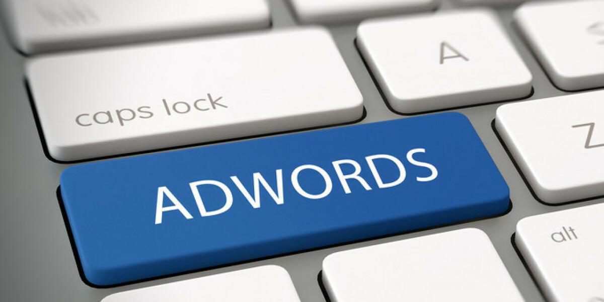 Tastatur mit AdWords