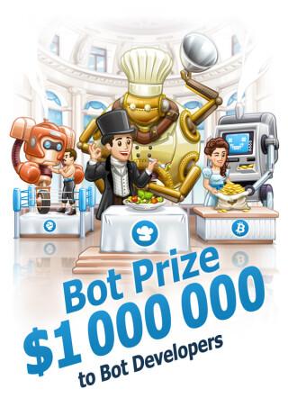 Bots-Förderung Telegram