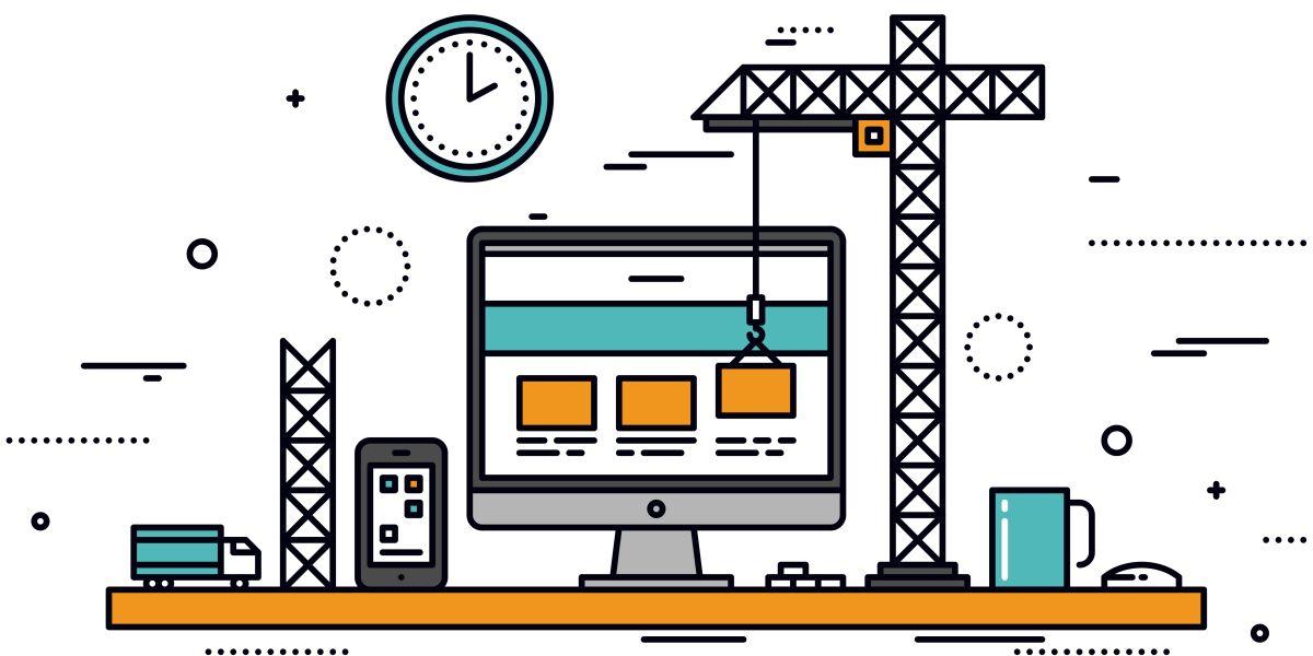 Bau einer Webseite
