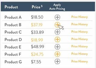 Amazon pricing
