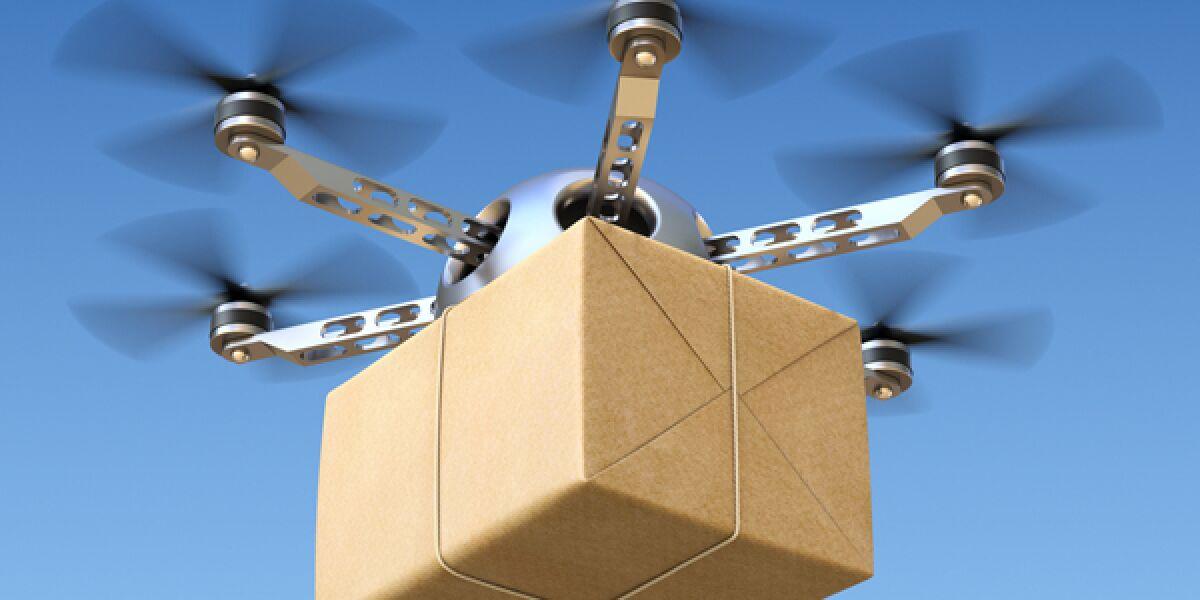 Drohnenlieferung