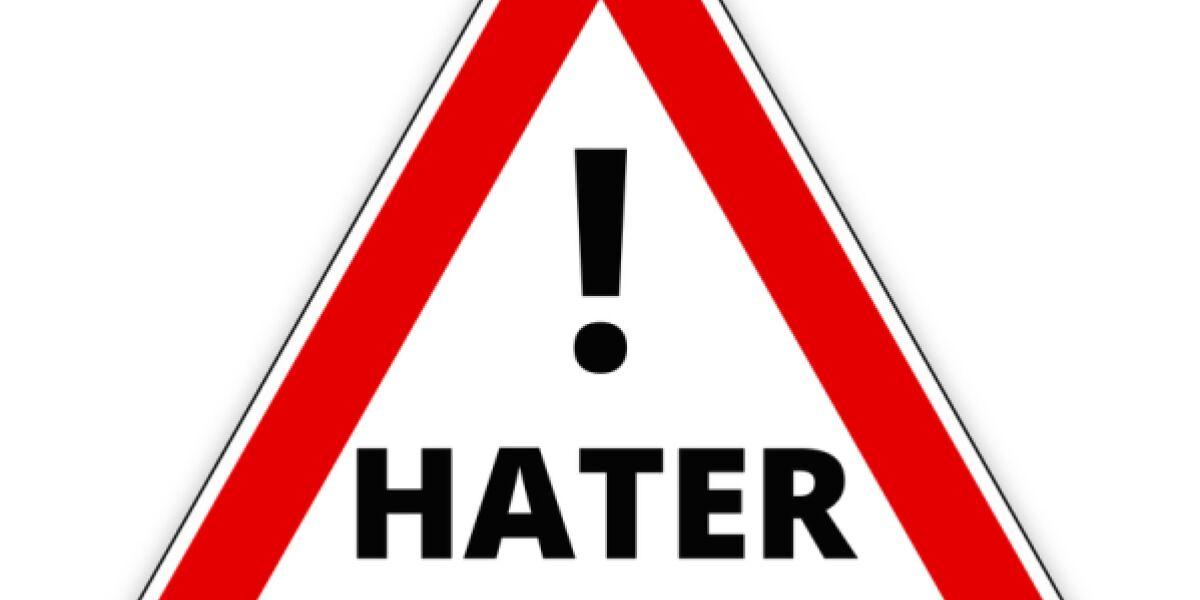 Hater-Stoppschild