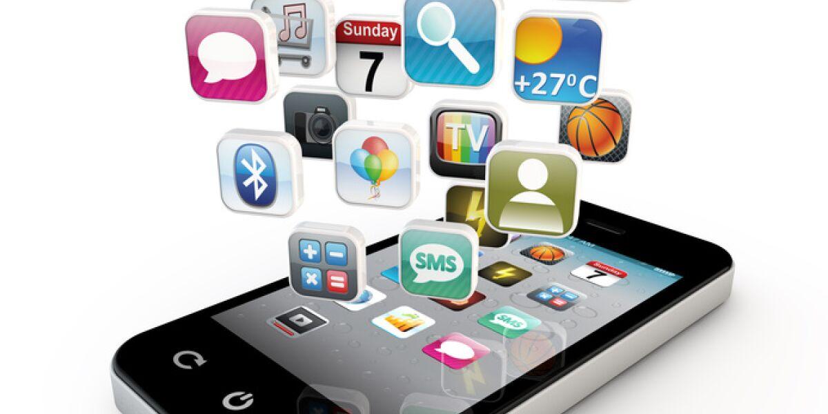 iPhone mit Apps