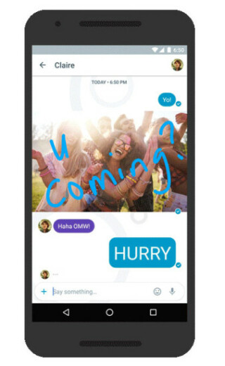 Smarter Messenger Google Allo
