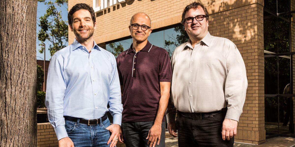 Linkedin und Microsoft