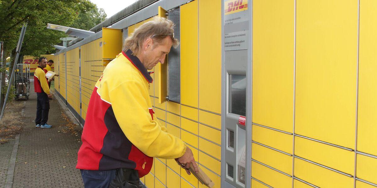DHL Packstation in Karlsruhe