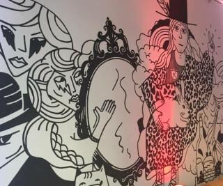 Wandgemälde Mindspace