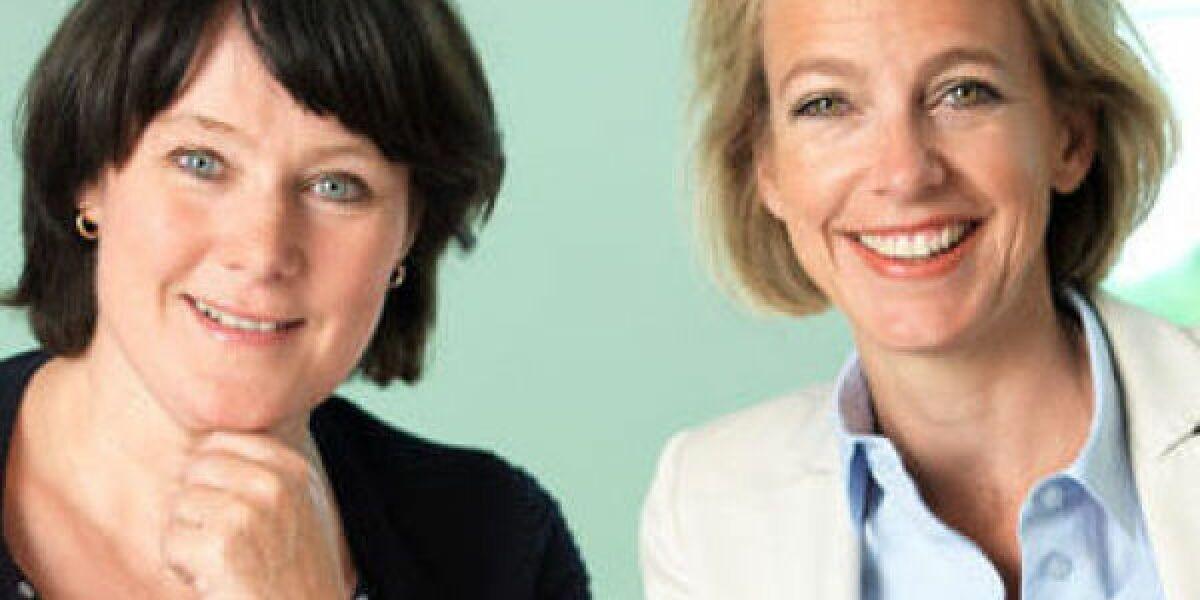 Anke Schäferkordt und Julia Jäkel