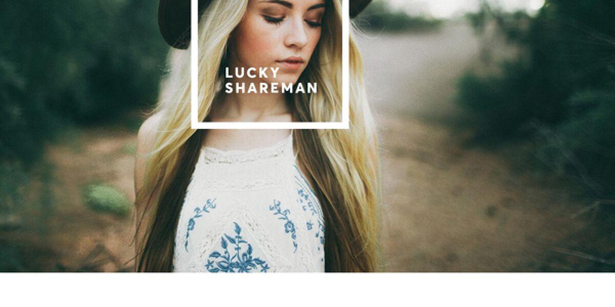 LuckyShareman vermittelt Influencer