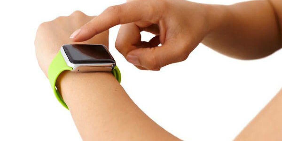 Applewatch am Handgelenk