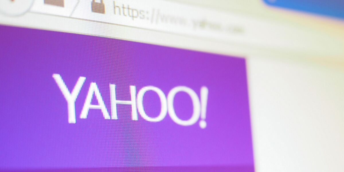 Yahoo in Firefox