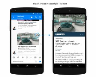Facebook Messenger Instant Article für Android
