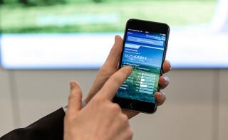 Die App der deutschen Bank