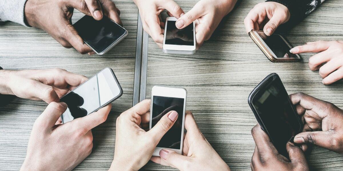 Unentbehrlich für viele Menschen: Smartphones