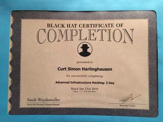 Black Hat Hacking Zertifikat