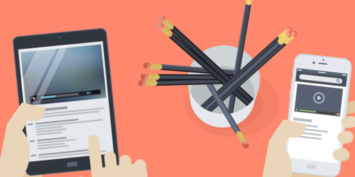 Videos auf Smartphone und Tablet
