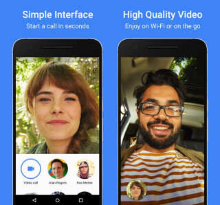 Google Video-Chat-App Duo