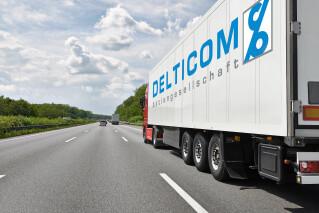 Lieferwagen von Delticom Hannover