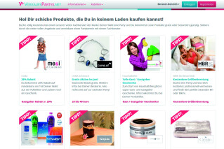 Verkaufspartys suchen bei Verkaufsparty.net